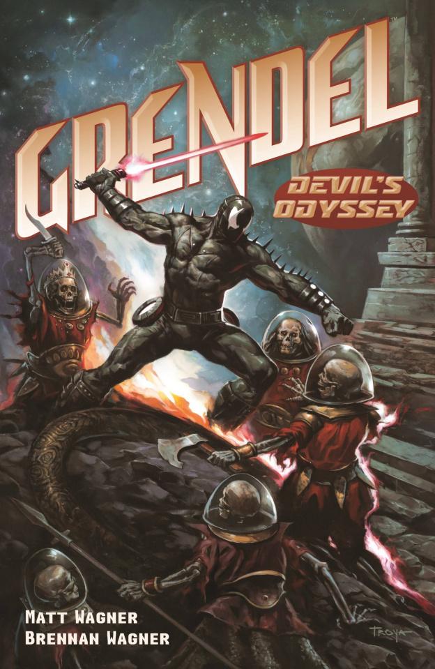 Grendel: Devil's Odyssey #6 (Troya Cover)