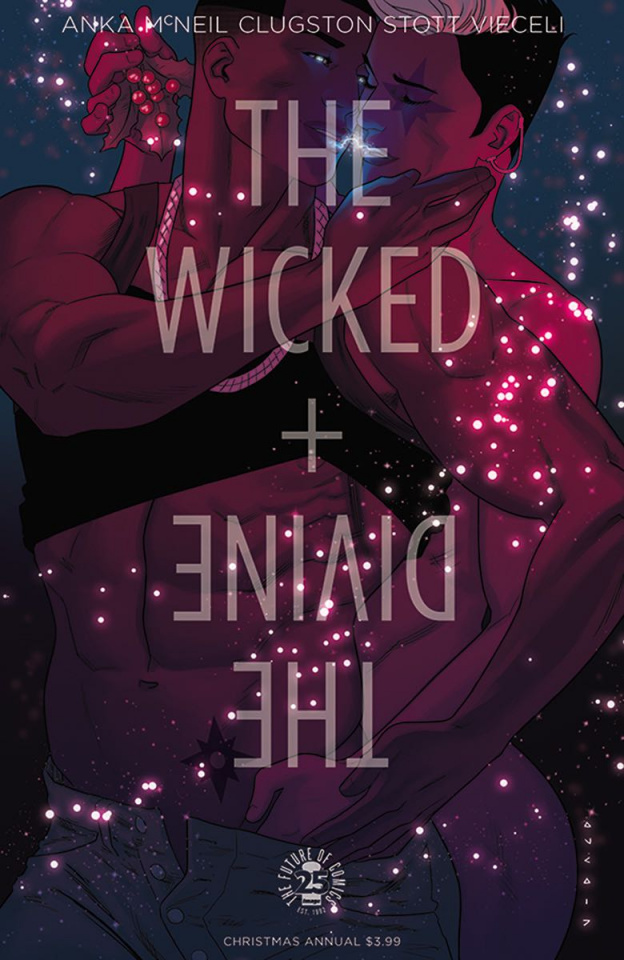 The Wicked + The Divine Christmas Annual #1 (Anka Cover)