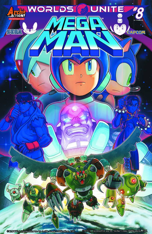 Mega Man #51 (Spaz Cover)