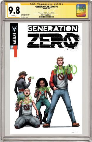 Generation Zero #1 (CGC Replica Perez Cover)
