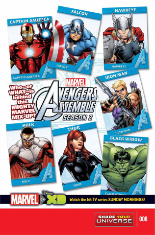 Avengers Assemble, Season Two #8