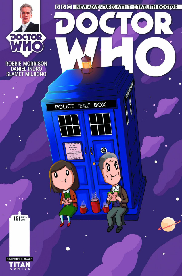 Doctor Who: New Adventures with the Twelfth Doctor #15 (Slorance Cover)