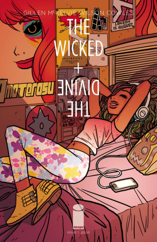 The Wicked + The Divine #1 (O'Malley Cover)