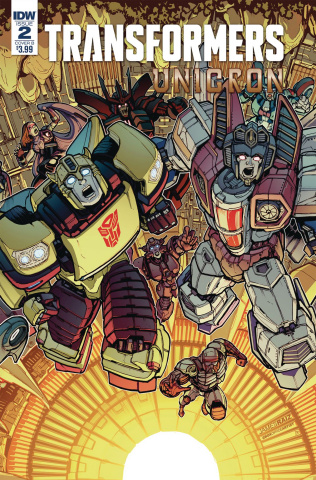 The Transformers: Unicron #2 (Raiz Cover)