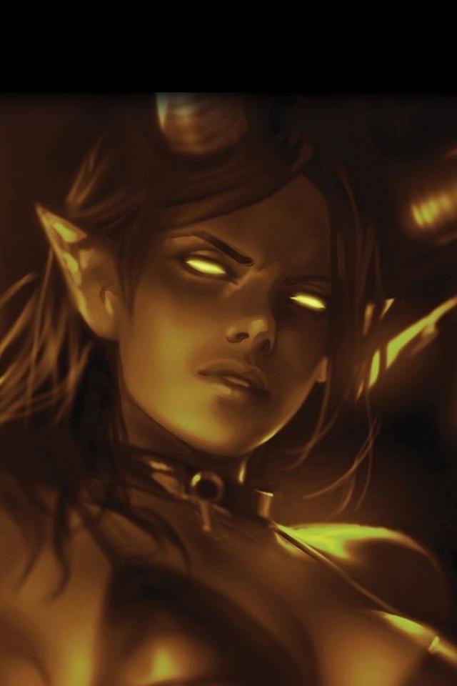 Red Sonja: Age of Chaos #3 (11 Copy Chew Sneak Peek Mono Virgin Cover)