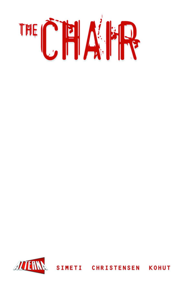 The Chair (Blank Sketch Cover)
