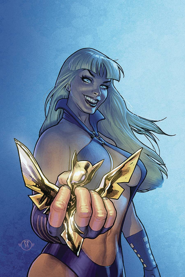 Sacred Six #7 (Roux Virgin Cover)