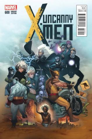 Uncanny X-Men #600 (Coipel Cover)