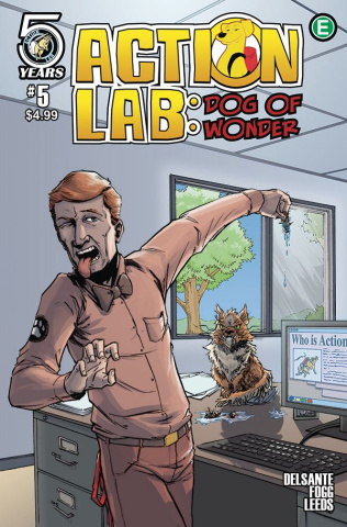 Action Lab: Dog of Wonder #5 (Peteranetz Cover)