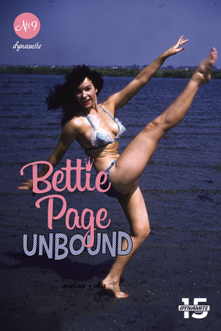 Bettie Page: Unbound #9 (Photo Cover)