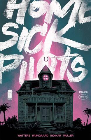 Home Sick Pilots #3 (Shalvey Cover)