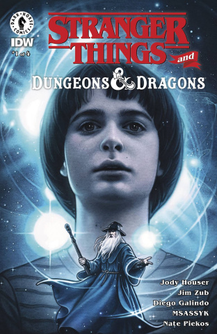 Stranger Things and Dungeons & Dragons #1 (Dittmann Cover)