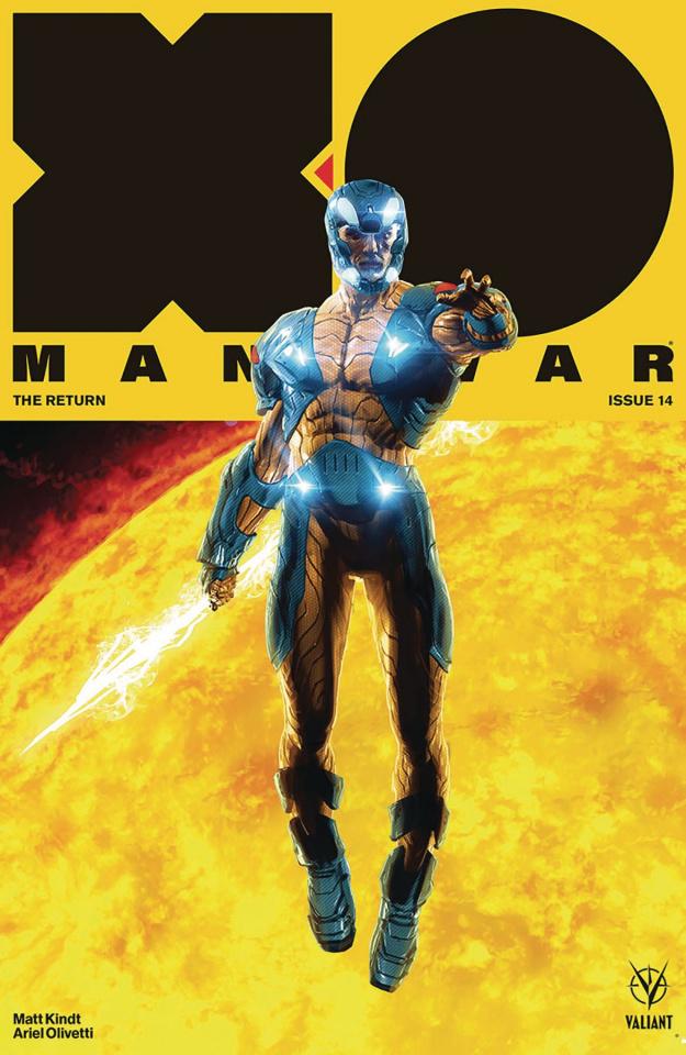 X-O Manowar #14 (Andrews Cover)