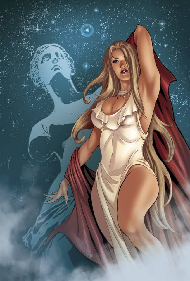 Grimm Fairy Tales: Godstorm - Age of Darkness (Qualano Cover)