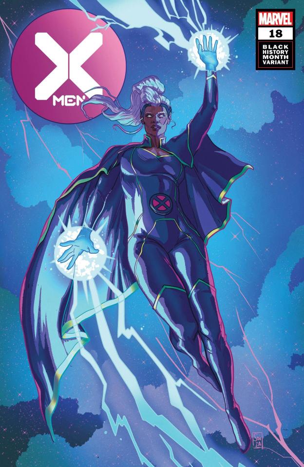 X-Men #18 (Souza Storm Black History Month Cover)