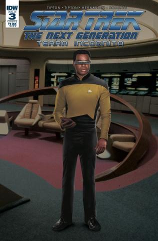 Star Trek: The Next Generation - Terra Incognita #3 (Photo Cover)