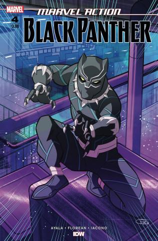 Marvel Action: Black Panther #4 (Florean Cover)