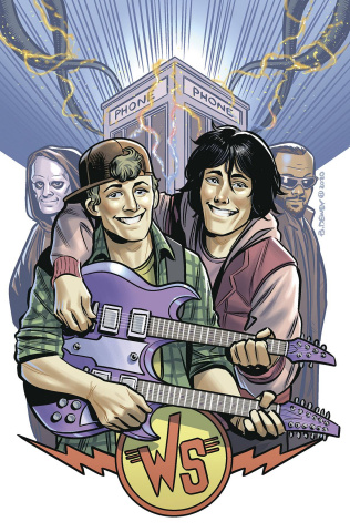 Bill & Ted Are Doomed #4 (Dewey Cover)
