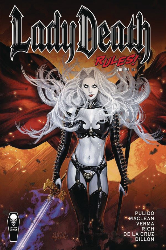 Lady Death Rules! Vol. 2