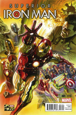 Superior Iron Man #1 (Ross 75th Anniversary Cover)