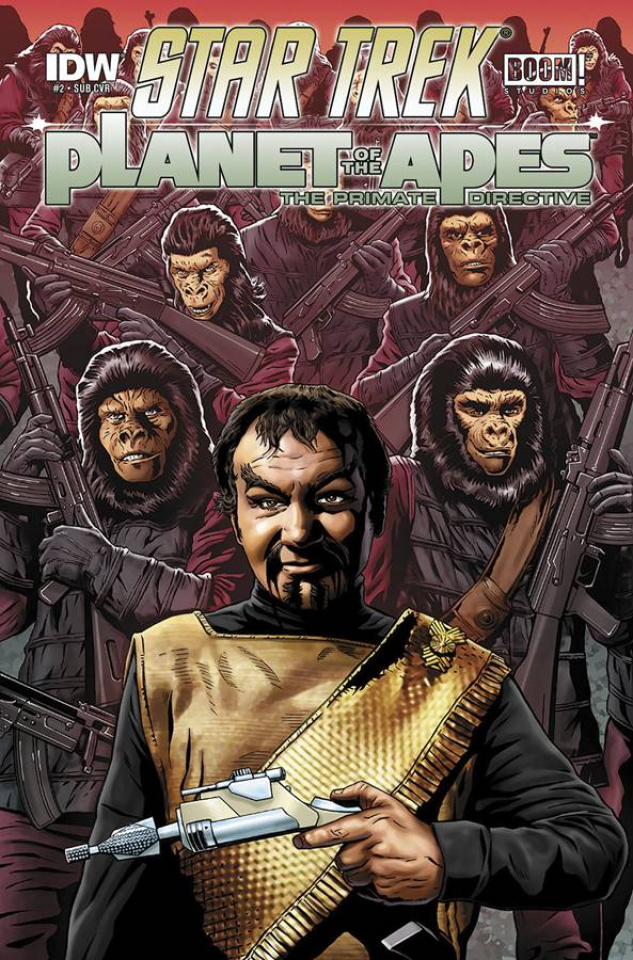 Star Trek / Planet of the Apes #2 (Subscription Cover)