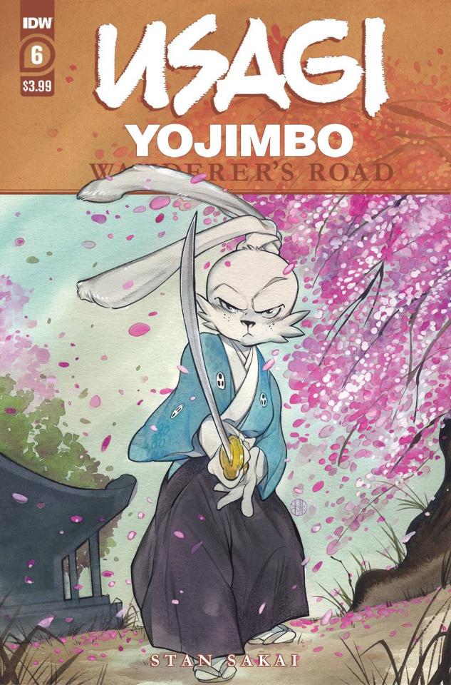 Usagi Yojimbo: Wanderer's Road #6 (Peach Momoko Cover)