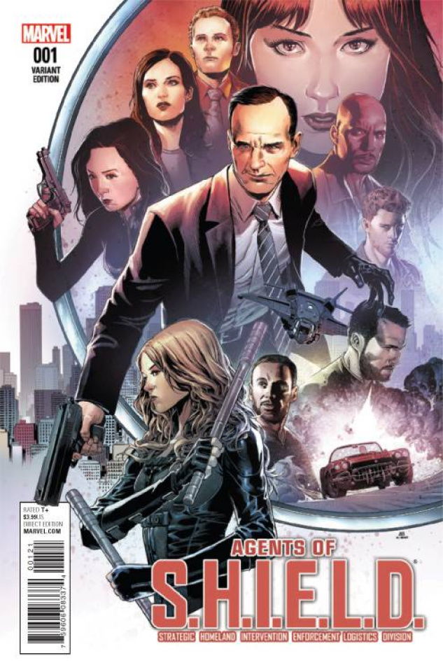 Agents of S.H.I.E.L.D. #1 (Cheung Cover)