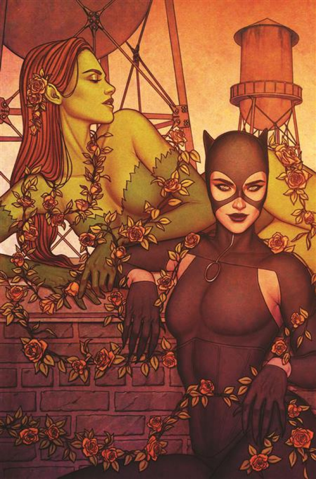 Catwoman #31 (Jenny Frison Card Stock Cover)