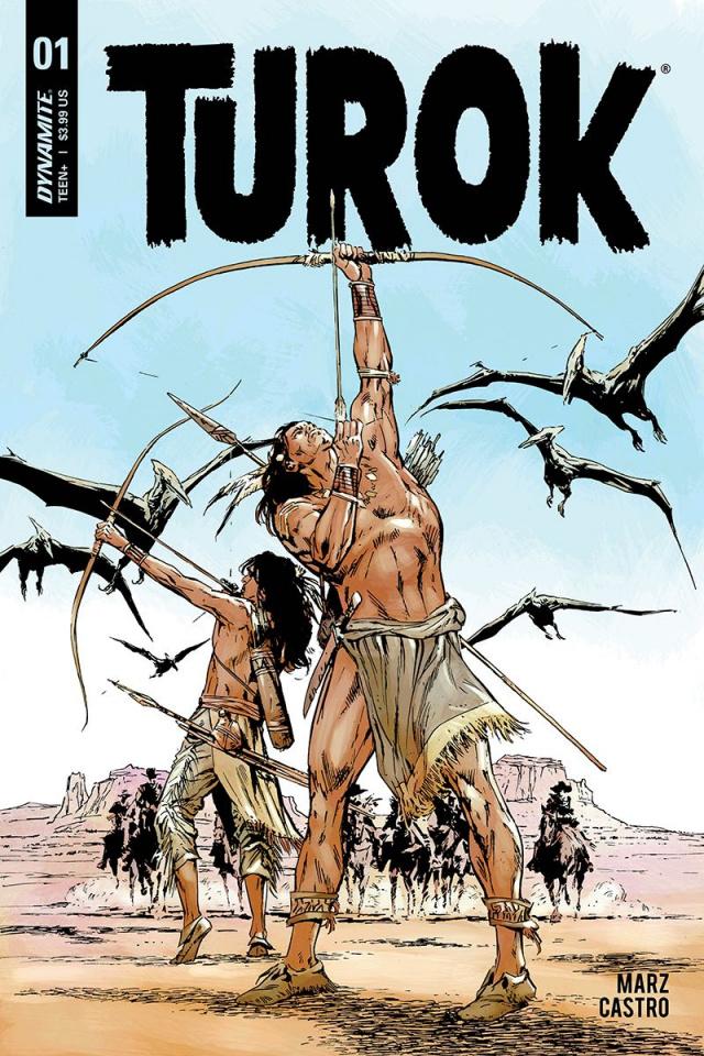 Turok #1 (Guice Cover)