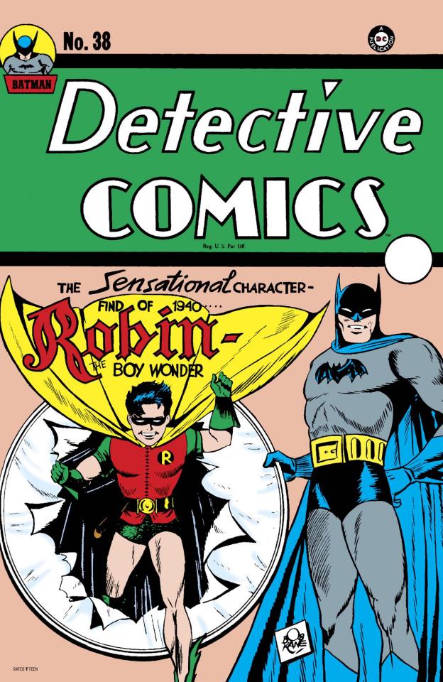 Detective Comics #38 (Facsimile Edition)