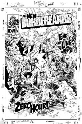 Borderlands: The Fall of Fyrestone #5 (10 Copy Cover)