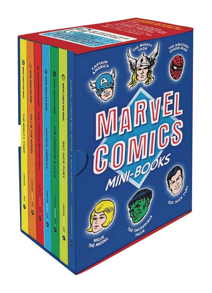 Marvel Comics Mini-Books (Collectible Boxed Set)