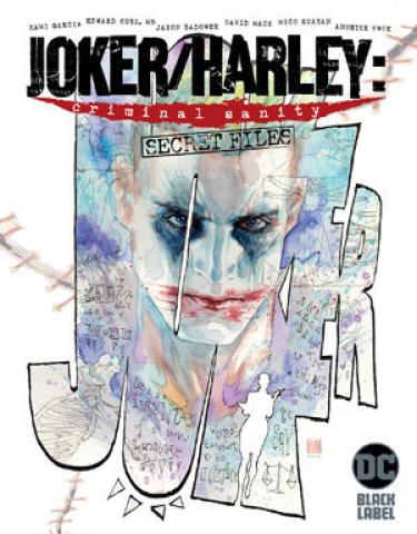 Joker / Harley: Criminal Sanity - Secret Files #1 (David Mack Cover)