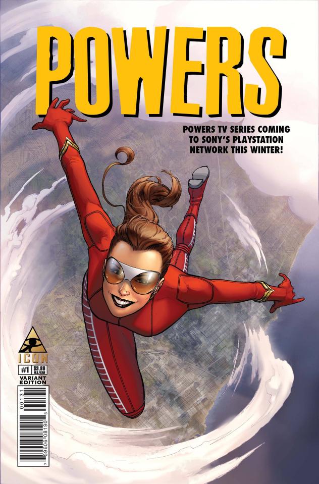 Powers #1 (Marquez Cover)