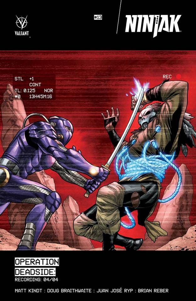 Ninjak #13 (Henry Cover)