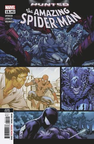 The Amazing Spider-Man #18 (Lashley 2nd Printing)