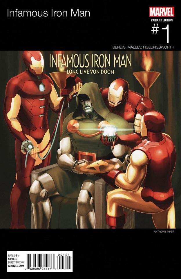 Infamous Iron Man #1 (Hip Hop Cover)