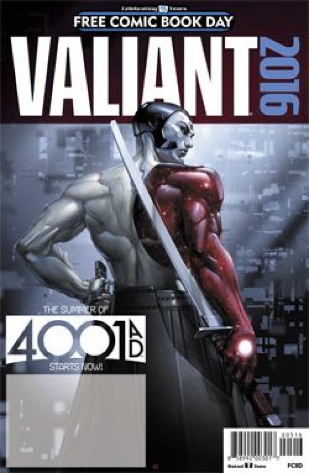 Valiant 4001 A.D. (FCBD 2016 Edition)