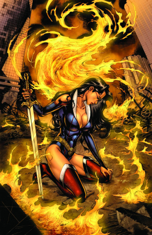 Grimm Fairy Tales: Realm Knights #4 (Dooney Cover)