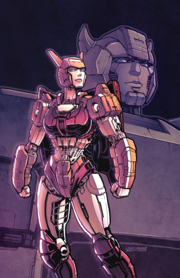 The Transformers #11 (Raiz Cover)