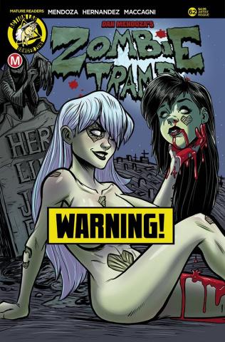 Zombie Tramp #62 (Garcia Risque Cover)