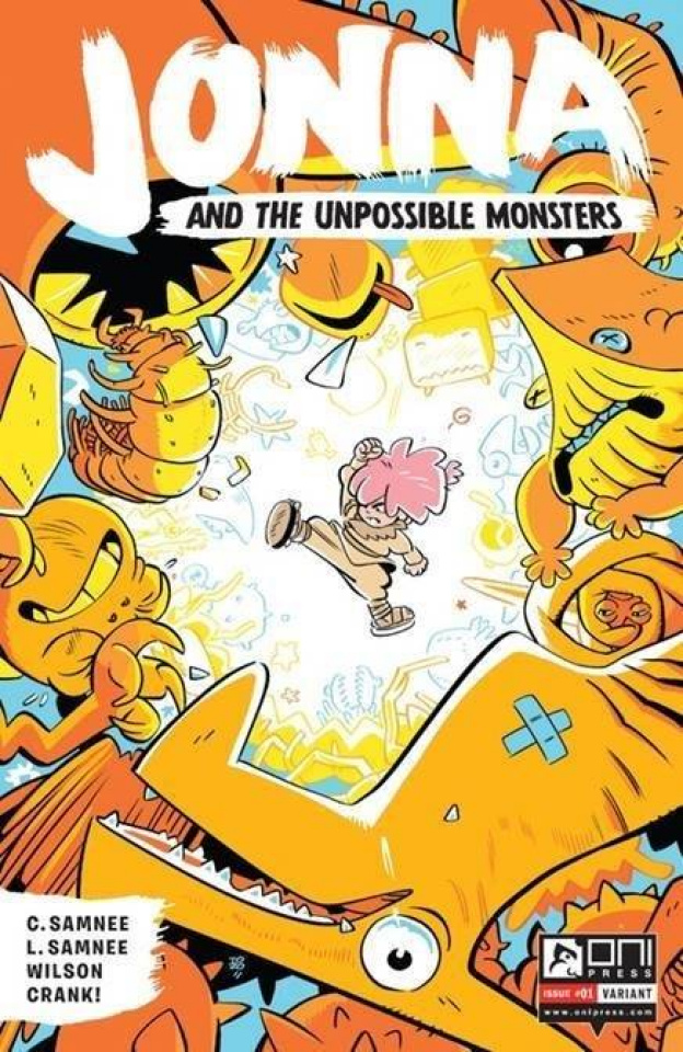 Jonna and the Unpossible Monsters #1 (15 Copy Cover)