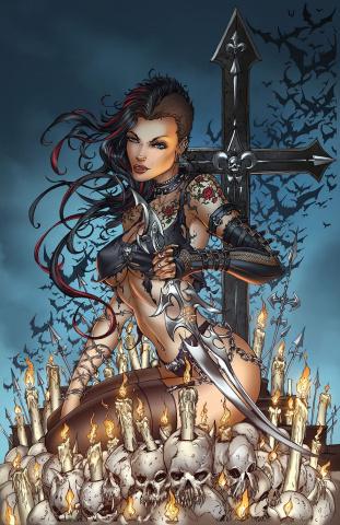 Grimm Fairy Tales: Van Helsing vs. Frankenstein #3 (Tyndall Cover)