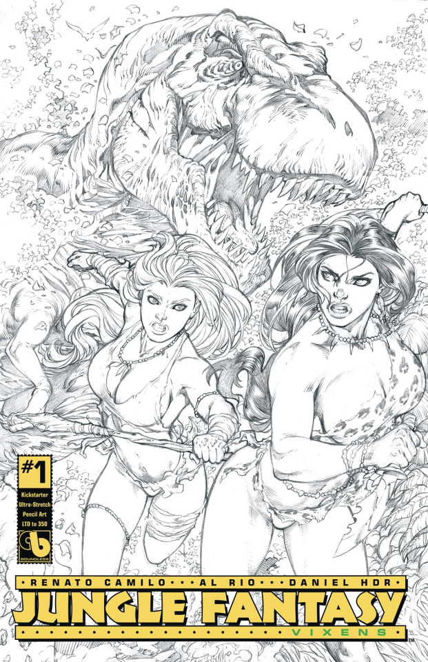 Jungle Fantasy: Vixens #1 (Ultra Stretch Cover)