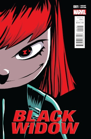 Black Widow #1 (Young Cover)
