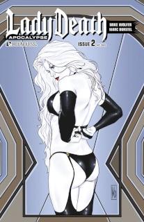 Lady Death: Apocalypse #2 (Art Deco Cover)
