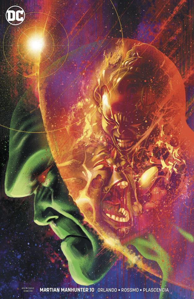 Martian Manhunter #10 (Variant Cover)