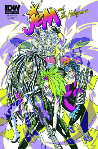 Jem and The Holograms #1 (3rd Printing)
