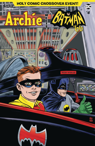 Archie Meets Batman '66 #4 (Allred Cover)