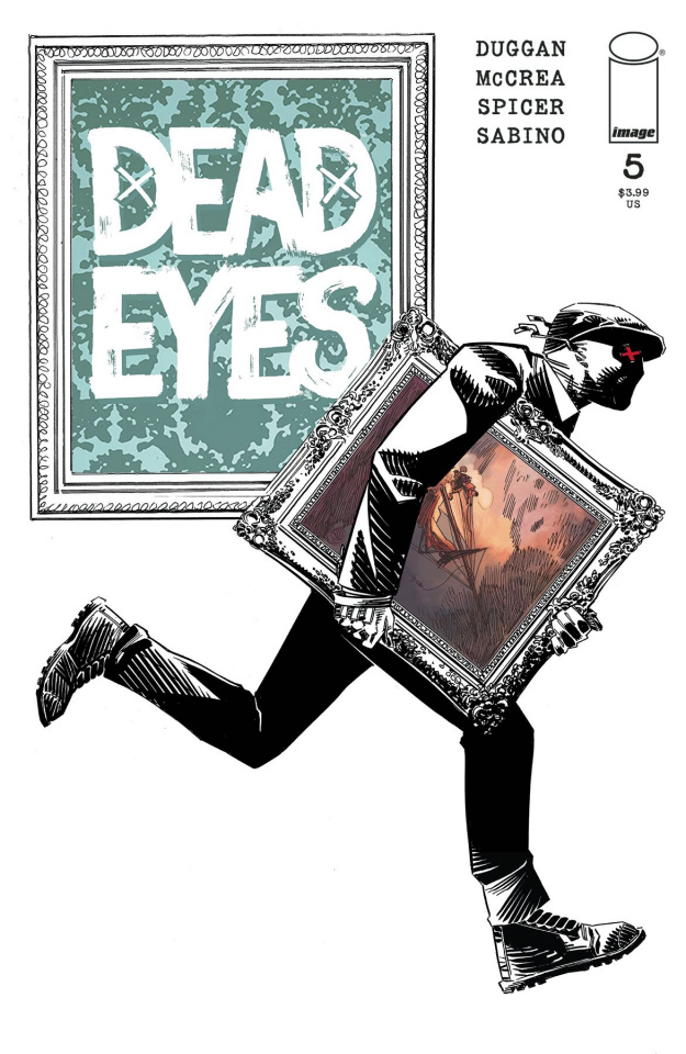 Dead Eyes #5 (McCrea Cover)